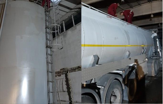 Kayseri'de 25 ton kaçak akaryakıt ele geçirildi