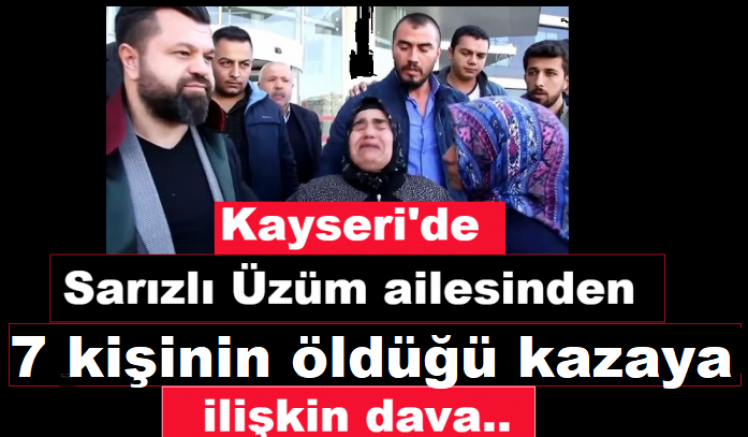 Kayseri'de 7 kişinin öldüğü trafik kazasının firari sanığın Artvin'e getirildiği belirtildi