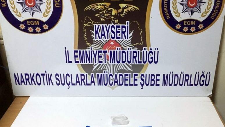 Kayseri'de bayram tatilinde düzenlenen uyuşturucu operasyonları