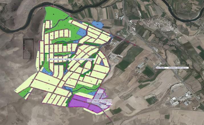 Kayseri'de Beydeğirmeni Besi Bölgesi'nde metan gazıyla elektrik enerjisi üretilecek
