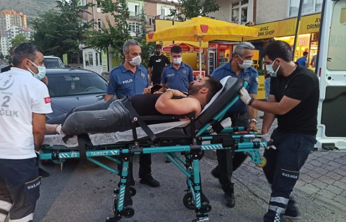 Kayseri'de bir kişi oynadığı tabancanın ateş alması sonucu yaralandı