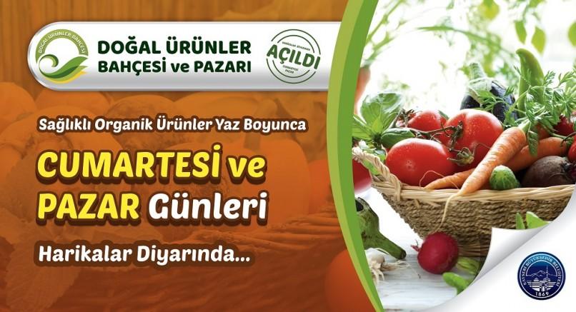 Kayseri'de Doğal ürünler pazarı açılıyor