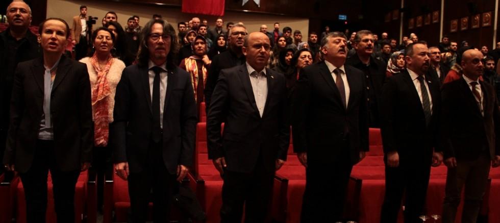 Kayseri' de Doğu Türkistan'da Yapılan Sağlık ve Yaşam İhlalleri Konferansı