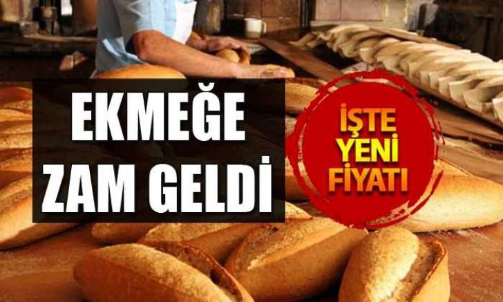 Kayseri'de ekmeğe zam geldi