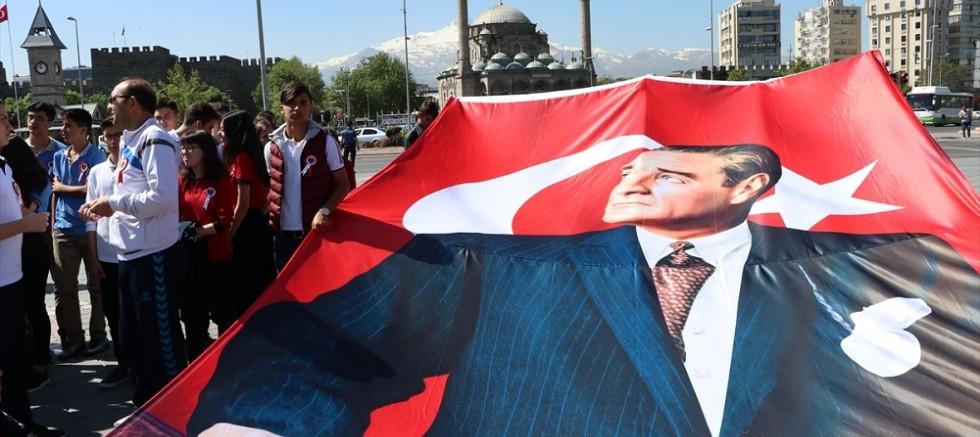 Kayseri'de Gençlik Haftası etkinlikleri başladı
