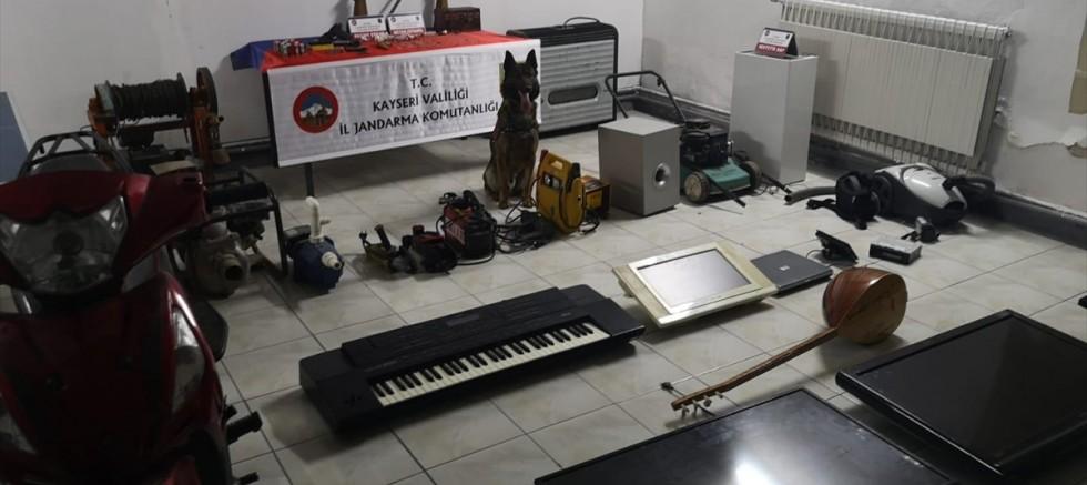Kayseri'de hırsızlık operasyonu