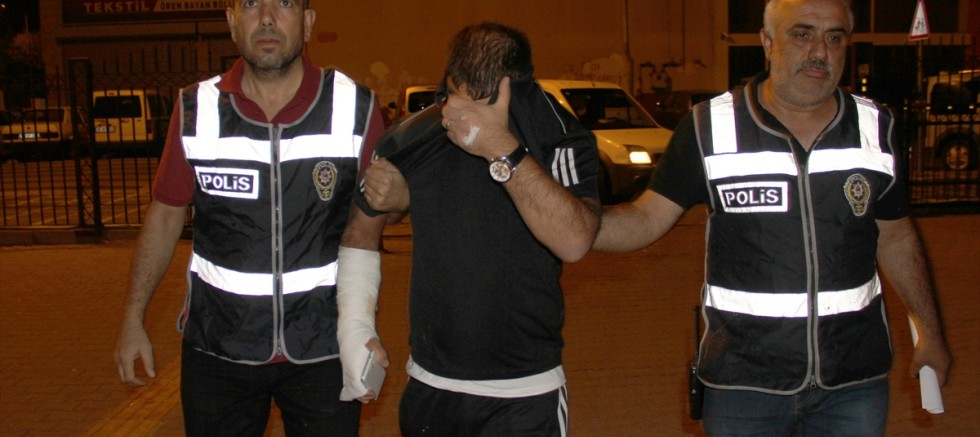 Kayseri' de İkinci kattan atlayan cezaevi firarisi hükümlü, polisten kaçamadı