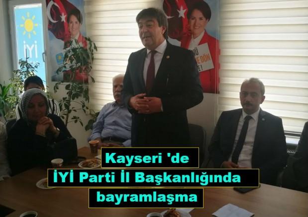 Kayseri 'de İYİ Parti İl Başkanlığında bayramlaşma
