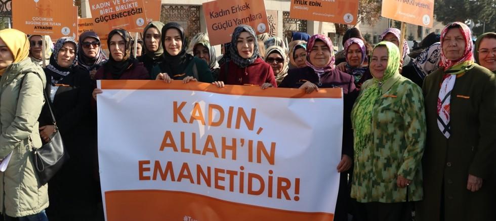 Kayseri'de Kadına Yönelik Şiddete Karşı Uluslararası Mücadele ve Dayanışma Günü