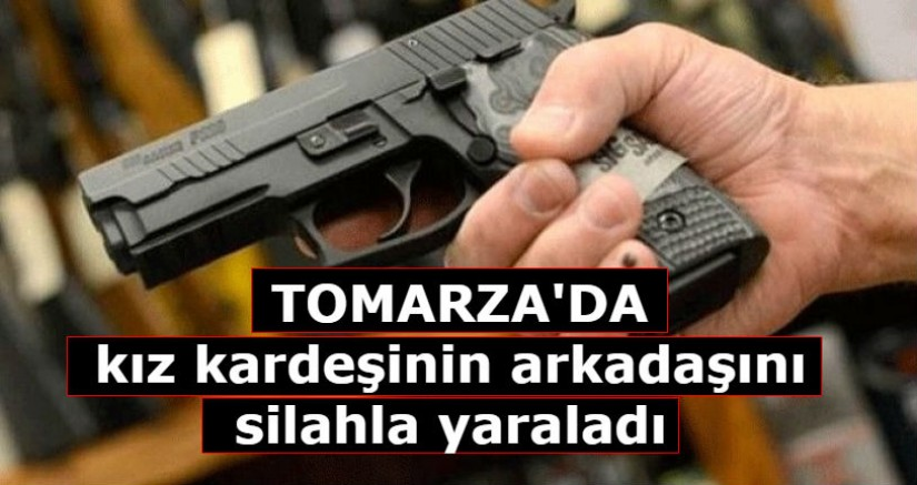 Kayseri'de  kız kardeşinin arkadaşını silahla yaraladı