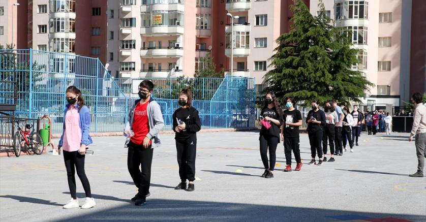 Kayseri'de LGS heyecanı