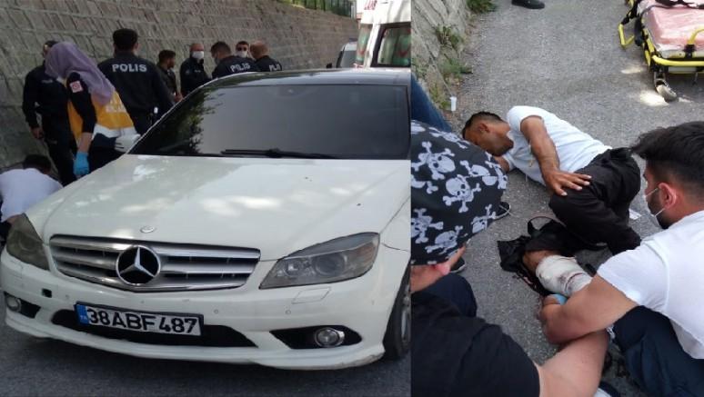 Kayseri'de silahlı kavgada 1 kişi yaralandı