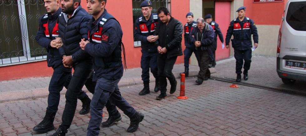 Kayseri'de tarihi eser kaçakçılığı operasyonunda 3 zanlı yakalandı