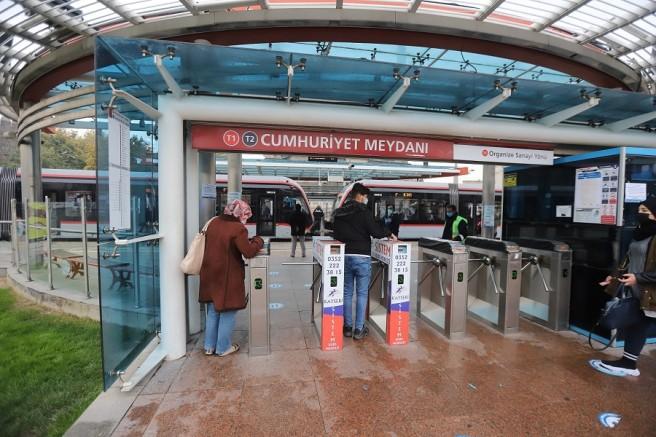 Kayseri'de toplu ulaşımda HES kodu uygulaması hayata geçti