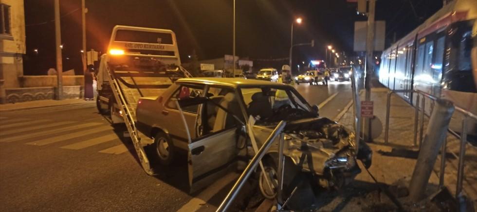 Kayseri'de trafik kazasında 4 kişi yaralandı