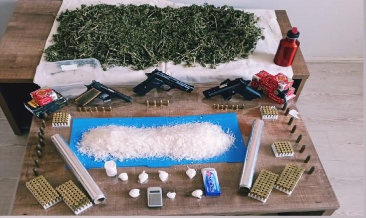Kayseri'de uyuşturucu operasyonunda 2 kişi gözaltında