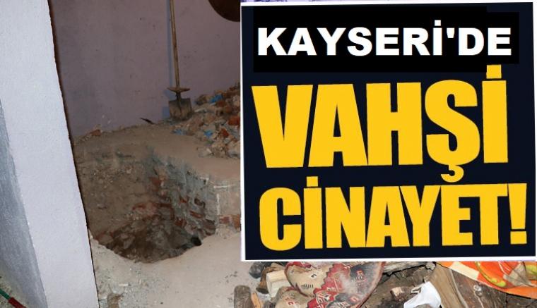 Kayseri'de vahşi cinayet ortaya çıktı iki kişinin cesedi tandırda bulundu
