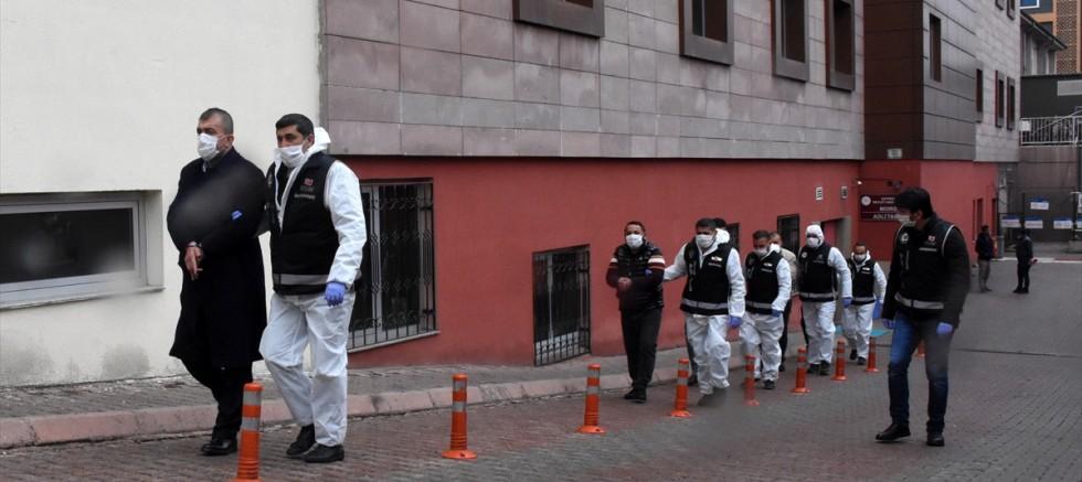 Kayseri'deki suç örgütü operasyonunda 8 şüpheli adliyeye sevk edildi