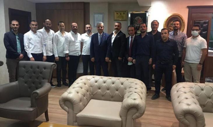Kayseri Genç Girişimciler Derneği'nden MHP İl başkanına ziyaret