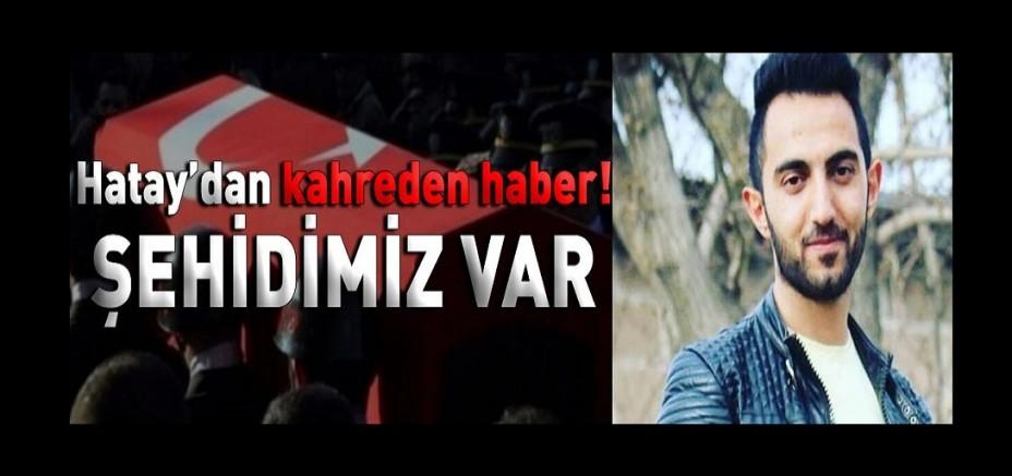 Kayseri'li  Piyade Er Erhan Gürbüz Hatay'da şehit oldu