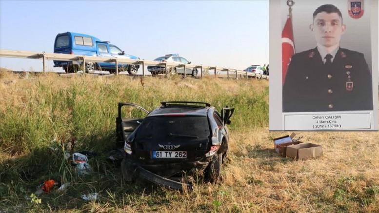 Kayseri' li Uzman çavuş izin dönüşü trafik kazasında hayatını kaybetti
