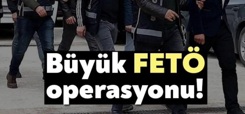 Kayseri merkezli FETÖ operasyonu 14 kişi  gözaltında