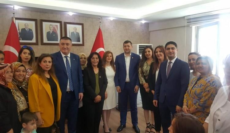 Kayseri MHP il teşkilatında  bayramlaşma