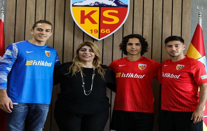 Kayserispor, 3 futbolcunun sözleşmesini uzattı