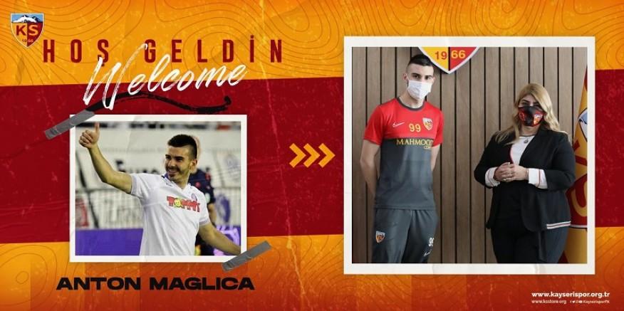 Kayserispor, Anton Maglica ile sözleşme imzaladı