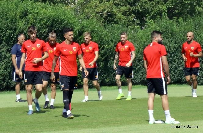 Kayserispor'da Galatasaray maçı hazırlıkları başladı