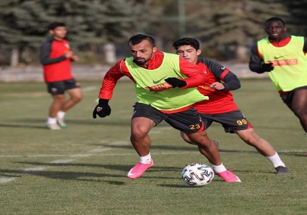 Kayserispor'da Galatasaray maçı hazırlıkları