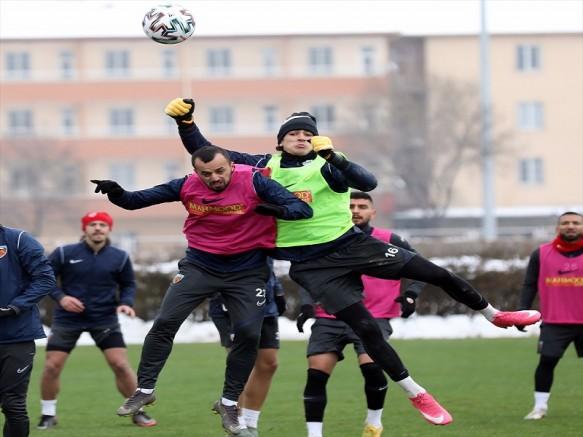 Kayserispor'da Gaziantep FK maçı hazırlıkları