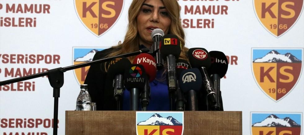 Kayserispor'da kulüp tesislerine eski başkan Recep Mamur'un adı verildi