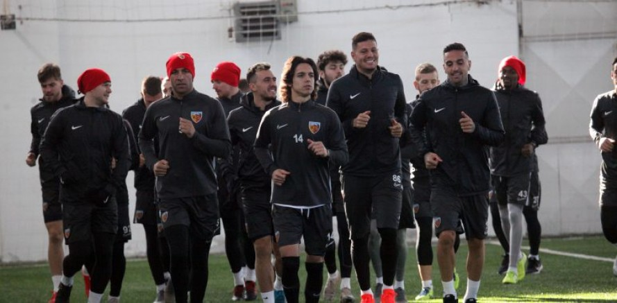 Kayserispor, Denizlispor maçının hazırlıklarını tamamladı