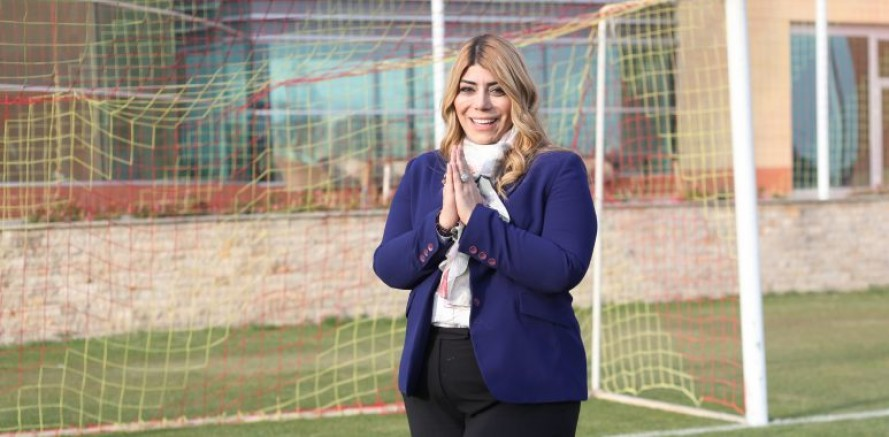 Kayserispor Kulübü Başkanı Berna Gözbaşı: