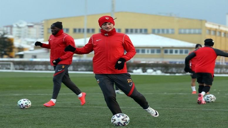 Kayserispor, Medipol Başakşehir maçına hazır