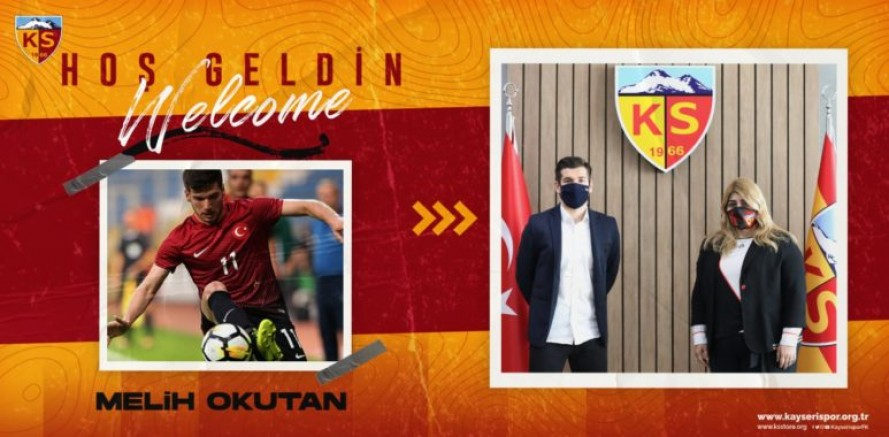 Kayserispor, Melih Okutan ile 2,5 yıllık sözleşme imzaladı