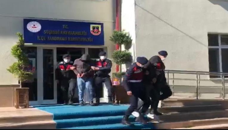 Kendilerini jandarma olarak tanıtıp dolandırıcılık yapan 2 kişi tutuklandı