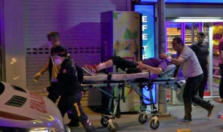 Kırıkkale'de çıkan kavgada 1 kişi silahla yaralandı