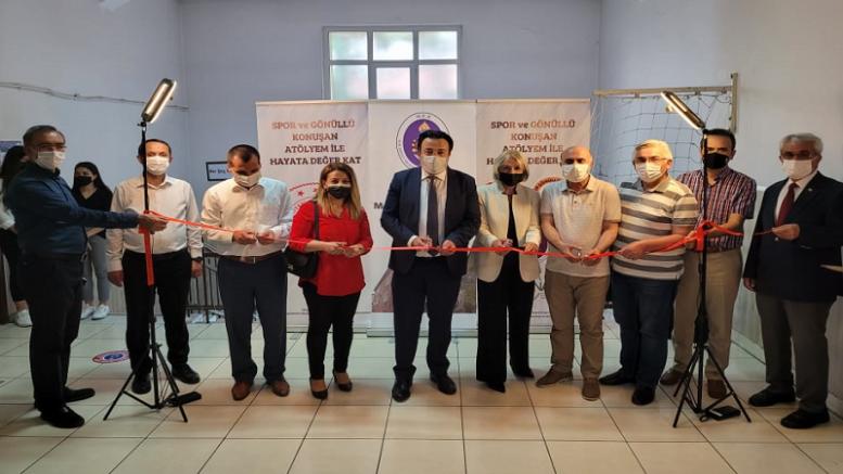 Kocasinan Mesleki ve Teknik Anadolu Lisesinde sesli kütüphane açıldı