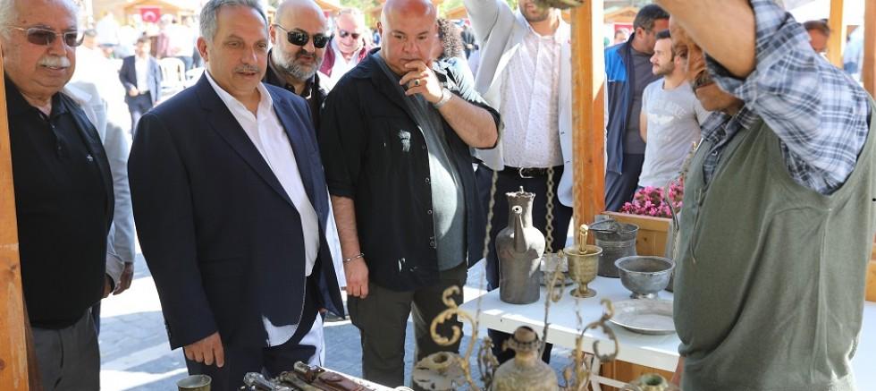 Koleksiyonerler Talas'ta buluştu