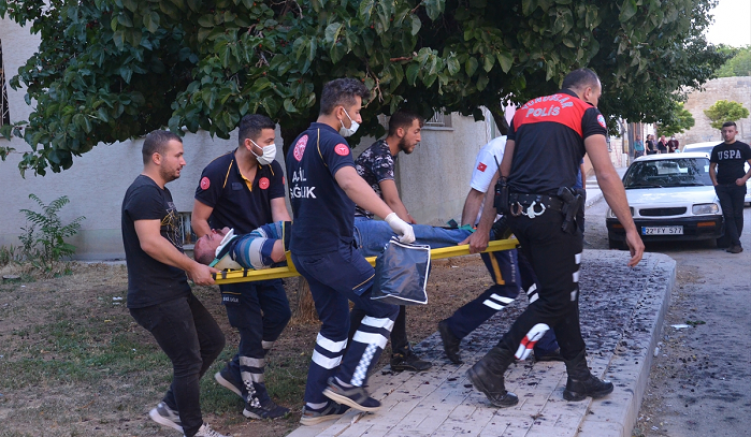 Komşu kavgasında 1 kişi öldü, 6 kişi yaralandı