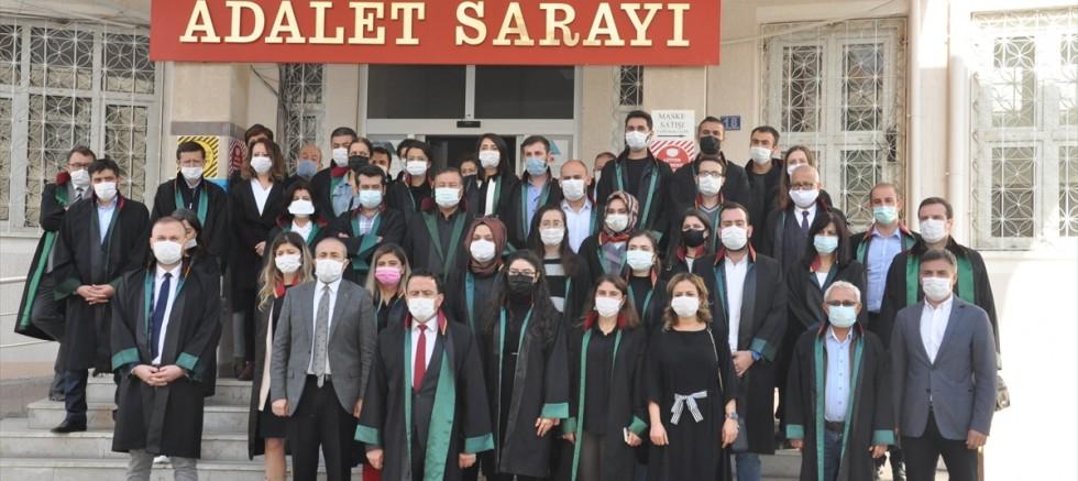 Konya'da bıçaklı saldırıya uğrayan avukat bir gözünü kaybetti