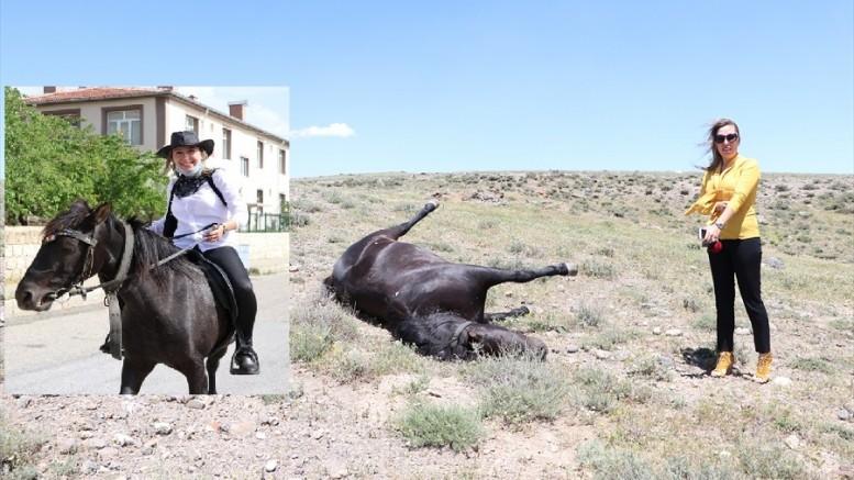 'Kovboy Muhtar'ın atını av tüfeği ile öldürdüler