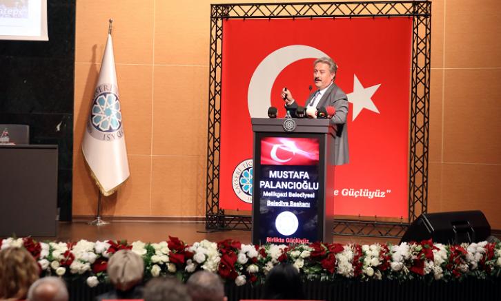 KTO Eylül ayı meclis toplantısına Melikgazi belediye başkanı Palancıoğlu konuk oldu