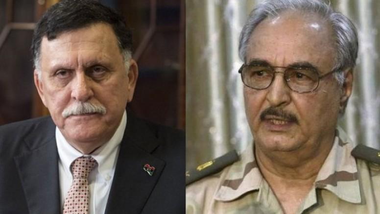 Libya Başbakanı Sarraj ve Hafter'in bugün Moskova'da ateşkes anlaşması imzalaması bekleniyor