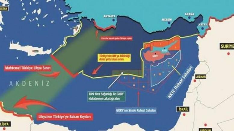Libya ile Türkiye arasında Deniz Yetki Alanı Mutabakat Muhtırası yürürlüğe girdi