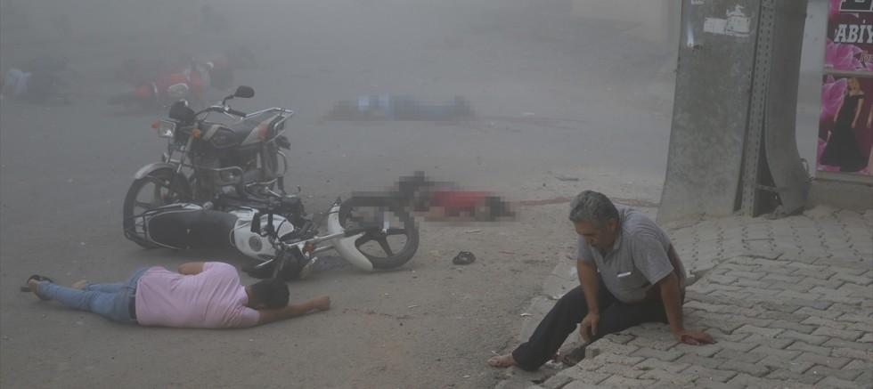 Mardin'in Nusaybin ilçesinde sivillere havanlı saldırı: : 8 şehit