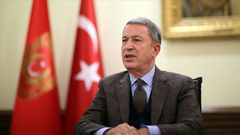 Milli Savunma Bakanı Akar, Libya Başkanlık Konseyi Başkanı Fayiz es-Serrac ile görüştü