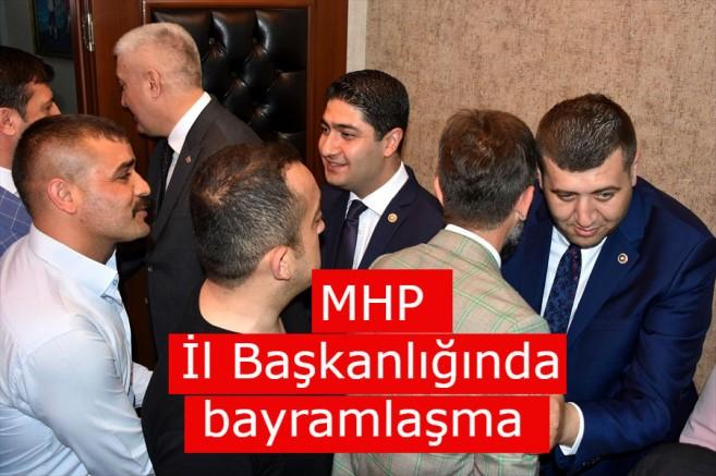 MHP İl Başkanlığında bayramlaşma